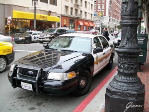 Una vera auto della polizia!!!