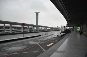 Aeroporto di Parigi nel grigio