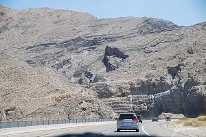Nevada - On the road verso Las Vegas