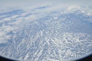Il viaggio - Groenlandia vista dall'aereo