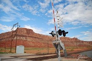 U.S.A Utah - Passaggio a livello