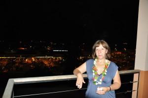 Aeroporto di Papeete dal nostro hotel
