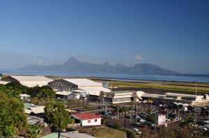 Moorea vista da Papeete