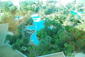 The Mirage - La piscina dall'alto