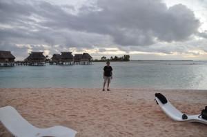 Tramonto in Polinesia
