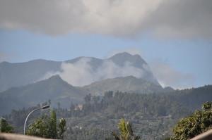 I Monti all'interno dell'isola