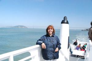 Sul battello per Alcatraz