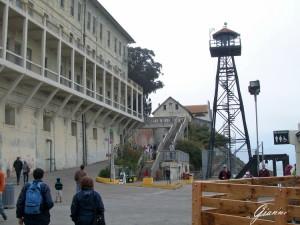 Ex Penitenziario di Alcatraz - La torretta di guardia