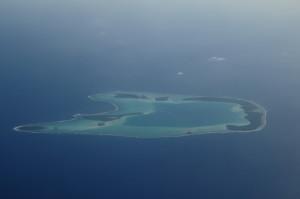 In volo verso Tikehau - L'atollo di Marlon Brando