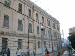 Alcatraz - La facciata di ingresso