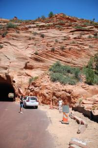 Il tunnel sulla strada per lo Utah