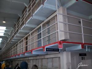 Ex Penitenziario di Alcatraz - Le celle