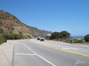On the road - Pacific Coast Highway 1