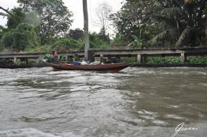 Long boat nei canali