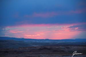 Arizona - Tramonto nel deserto