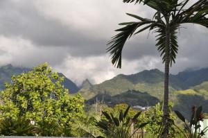 Tahiti - Le verdi montagne