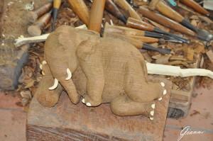 Laboratorio di scultura in legno