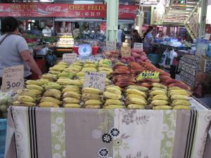 I colori del mercato di Papeete