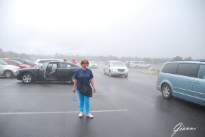 Grand Canyon... il parcheggio nella nebbia