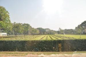 Thailandia - Il fiume Kwai - Cimitero di guerra inglese
