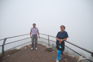 Arizona - Grand Canyon nella nebbia