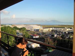L'aeroporto di Papeete
