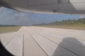 La pista di volo... corta