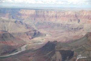 Il Grand Canyon dall'elicottero