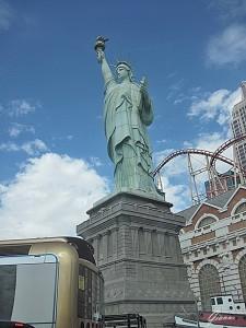 New York New York - La statua della libertà a Las Vegas