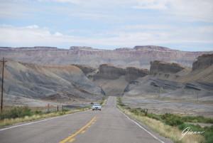On the road verso lo Utah