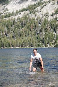 Tenaya Lake Acqua gelida... che coraggio!!!