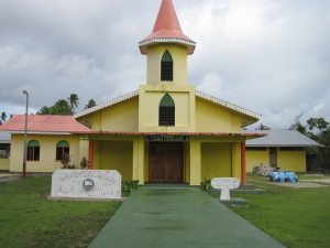 Villaggio di Tikehau - La chiesa