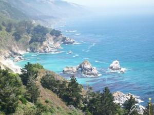Big Sur - Scogliera a picco sul mare