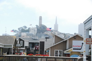 Coit Tower e Transamerica Pyramid