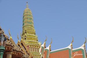 Palazzo reale, statue e pagode
