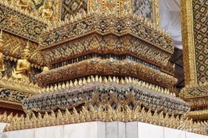 Il palazzo reale - Particolari degli intarsi