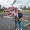 Arizona - Grand Canyon - Partenza per il tour sull'elicottero