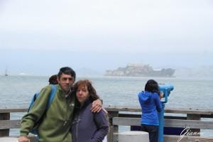 Vento freddo... sullo sfondo Alcatraz...