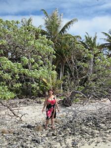 A spasso per l'isola