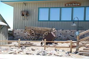 California - Death Valley - Vecchi carretti
