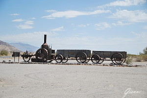 Furnace Creek Death Valley - Il treno del borace