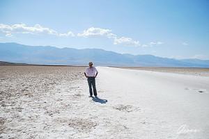 Death Valley - Il lago salato a Badwater