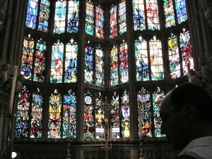 Vetrata interna - Westminster Abbey