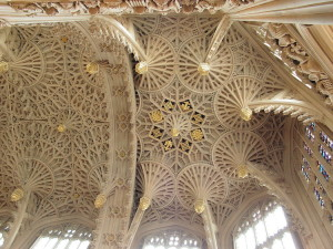 Il soffitto - Westminster Abbey