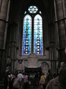 Westminster Abbey - Vetrata interna