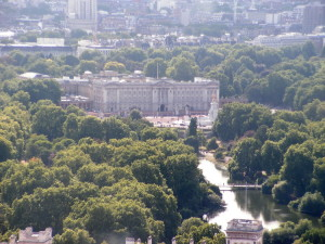 Buckingham Palace dal London Eye