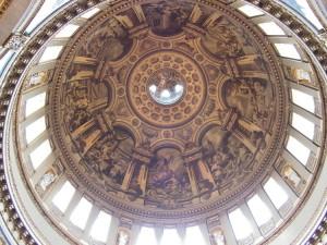 Interno della cupola di San Paolo