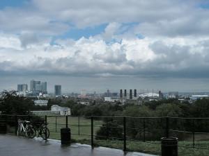 Nuvole su Londra