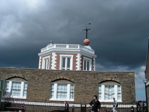 Greenwich - nubi minacciose