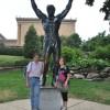 La statua di Rocky